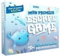 ESCAPE GAME -  LE CHANT DES BALEINES (FRENCH) -  MON PREMIER ESCAPE GAME