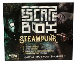 ESCAPE GAME -  STEAMPUNK (FRENCH) -  ESCAPE BOX