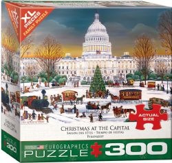 EUROGRAPHICS -  CHRISTMAS AT THE CAPITOL (300 PIECES)
