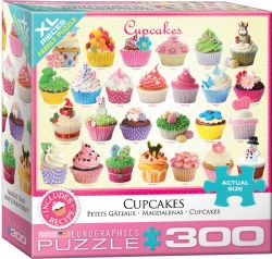 EUROGRAPHICS -  CUPCAKES (300 PIECES)