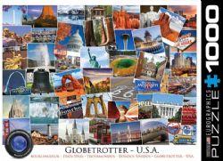 EUROGRAPHICS -  GLOBETROTTER - USA (1000 PIECES)