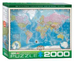 EUROGRAPHICS -  MAP OF THE WORLD (2000 PIECES)