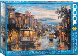 EUROGRAPHICS -  SAN FRANCISCO, CABLE CAR HEAVEN (1000 PIECES)
