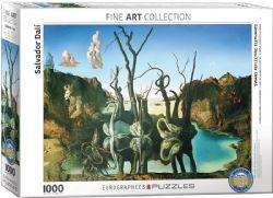 EUROGRAPHICS -  SWANS REFLECTING ELEPHANTS (1000 PIECES)