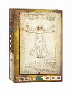 EUROGRAPHICS -  THE VIRTUVIAN MAN (1000 PIECES)