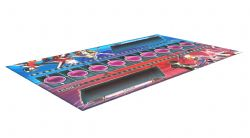 EXCEED FIGHTING SYSTEM -  BLAZBLUE : PLAYMAT
