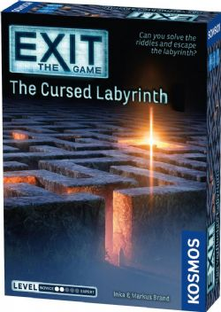 EXIT THE GAME -  THE CURSED LABYRINTH (ENGLISH)