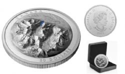 EXTRAORDINARILY HIGH RELIEF COINS (GRAND SCALE) -  LAKE LOUISE -  2021 CANADIAN COINS 01