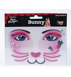 FACE ART DECOR -  BUNNY