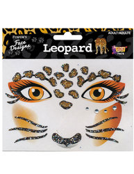 FACE ART DECOR -  LEOPARD -  LEOPARD