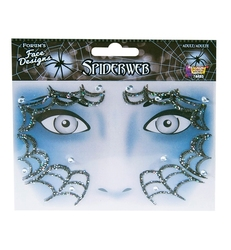 FACE ART DECOR -  SPIDERWEB