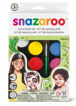 FACE PAINTING KIT -  RAINBOW FACE PAINTING KIT - 8 COLORS