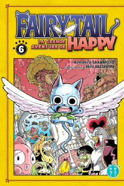 FAIRY TAIL -  (FRENCH V.) -  GRANDE AVENTURE DE HAPPY, LA 06