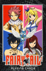 FAIRY TAIL -  PLAYING CARDS