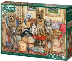 FALCON DE LUXE -  GATHERING ON THE COUCH (1000 PIECES)