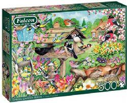 FALCON DE LUXE -  SPRING GARDEN BIRDS (500 PIECES)