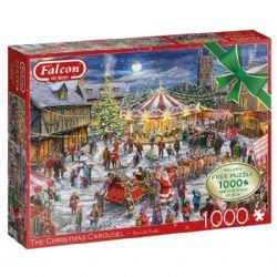 FALCON DE LUXE -  THE CHRISTMAS CAROUSEL (2 X 1000 PIECES)