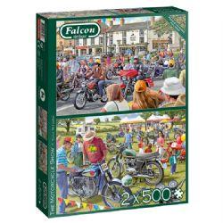 FALCON DE LUXE -  THE MOTORCYCLE SHOW (2 X 500 PIECES)