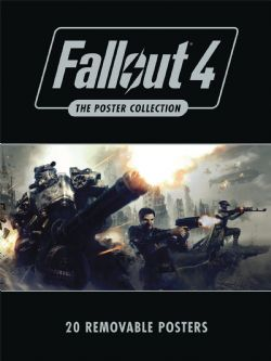 FALLOUT -  20 REMOVABLE POSTERS -  FALLOUT 4