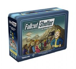 FALLOUT SHELTER : THE BOARD GAME -  BASE GAME (ENGLISH)