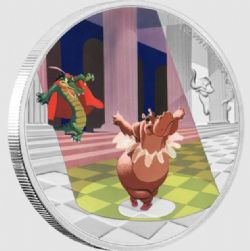 """FANTASIA -  DISNEY'S FANTASIA 80TH ANNIVERSARY: """"DANCE OF THE HOURS"""" -  2020 NEW ZEALAND MINT COINS 03"""