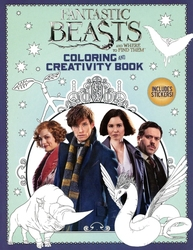 FANTASTIC BEASTS -  COLORING AND CREATIVITY BOOK