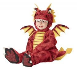 FANTASY -  ADORABLE DRAGON COSTUME (INFANT)