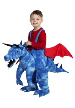 FANTASY -  DASHING DRAGON COSTUME (CHILD - TODDLER ONE SIZE)