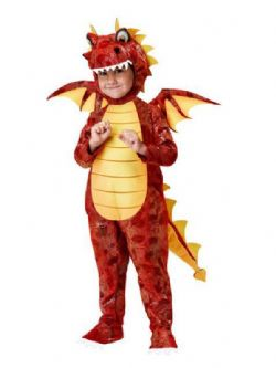 FANTASY -  FIRE BREATHING DRAGON COSTUME (TODDLER)