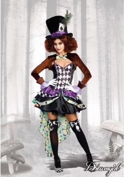FANTASY -  HATTER MADNESS COSTUME (ADULT)