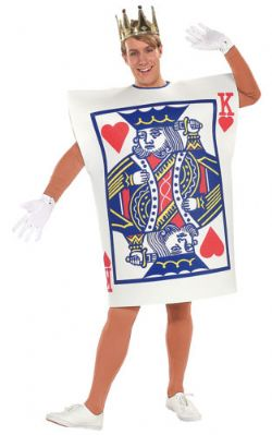 FANTASY -  KING OF HEARTS COSTUME (ADULT - STANDARD)