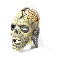 FANTASY -  OPEN BRAIN ZOMBIE WITH HAIR MASK