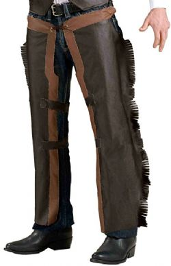 FAR WEST -  COWBOY CHAPS (ADULT - ONE SIZE)