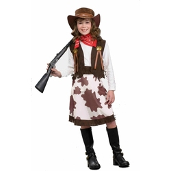 FAR WEST -  COWGIRL CUTIE COSTUME (CHILD)