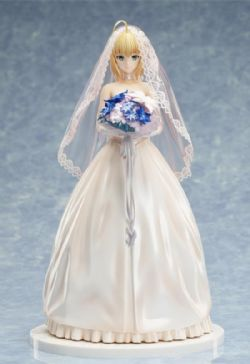 FATE/STAY NIGHT -  FIGURE - 10TH ANNIVERSARY ~ ROYAL DRESS VERSION -  SABER