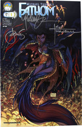 FATHOM -  SIGNED COMIC BY TURNER, TURNBULL & STEIGERWALD -#1