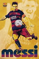 FC BARCELONA -  2015 LIONEL MESSI POSTER (22