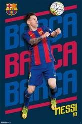 FC BARCELONA -  2016 LIONEL MESSI POSTER (22