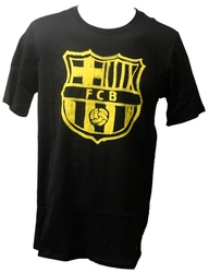 FC BARCELONA -  BLACK T-SHIRT