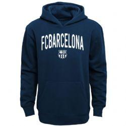 FC BARCELONA -  HOODIE - BLUE (YOUTH)