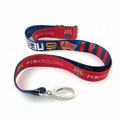 FC BARCELONA -  LIONEL MESSI #10 KEY LANYARD