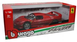FERRARI -  RACE AND PLAY - 1/18 - RED