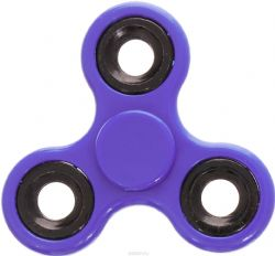 FIDGET - HAND SPINNERS -  FIDGET SPINNER GLOW IN THE DARK - PURPLE