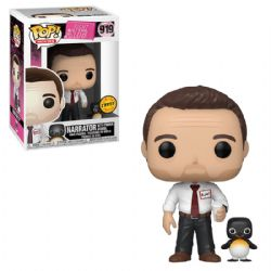 FIGHT CLUB -  POP! VINYL FIGURE OF THE NARRATOR (WITH POWER ANIMAL) (4 INCH) 919