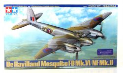FIGHTER -  DE HAVILLAND MOSQUITO FB MK.VI/NF MK.II 1/48 (CHALLENGING)