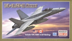 FIGHTER -  F/A-18/CF-18 HORNET 1/72 (LEVEL 2)