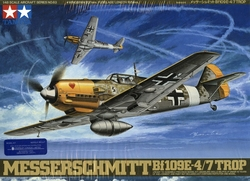 FIGHTER -  MESSERSCHMITT BF109E-4/7 TROP 1/48 (CHALLENGING)