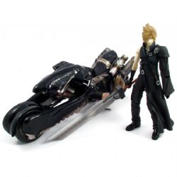 FINAL FANTASY -  CLOUD STRIFE WITH FENRIR FIGURE (10.9INCHES) -  FINAL FANTASY VII:ADVENT CHILDREN 10
