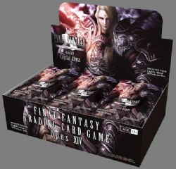 FINAL FANTASY -  OPUS 14 CRYSTAL ABYSS - BOOSTER PACK (P12/B36/C12) **LIMIT 1 BOX (24 PACKS) PER CUSTOMER**