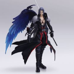 FINAL FANTASY -  SEPHIROTH ACTION FIGURE (8INCHES) -  FINAL FANTASY VII